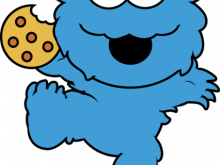 220x165 Cookie Monster Clipart Cookie Monster Face Clipart Free Clip Art