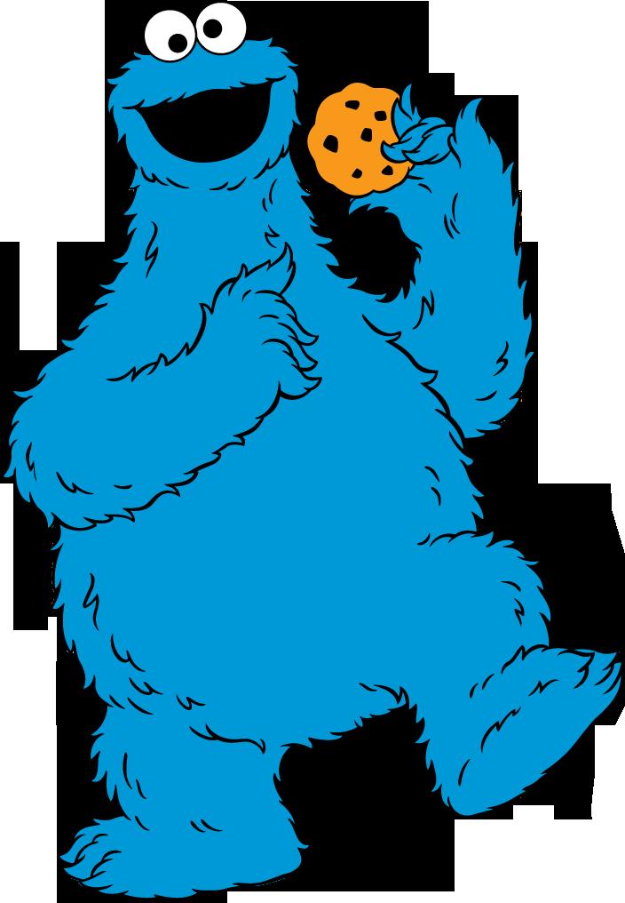 704x1016 Cookie Monster Clip Art Sesame Street Clipart