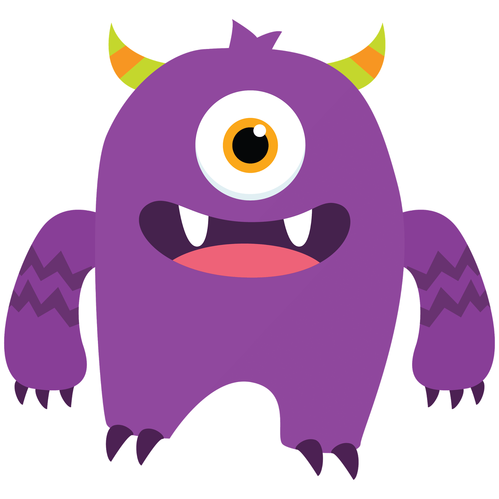 1600x1600 Animated Monsters Cliparts