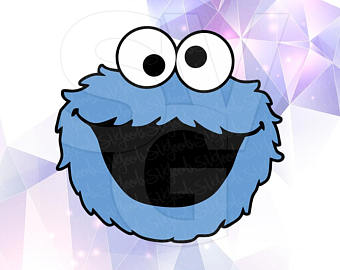 340x270 Cookie Monster Png Etsy