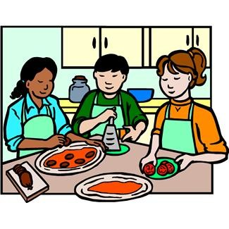 325x325 Kids Cooking Clipart Clipartmonk