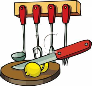 300x280 Cooking Spoon Free Clipart
