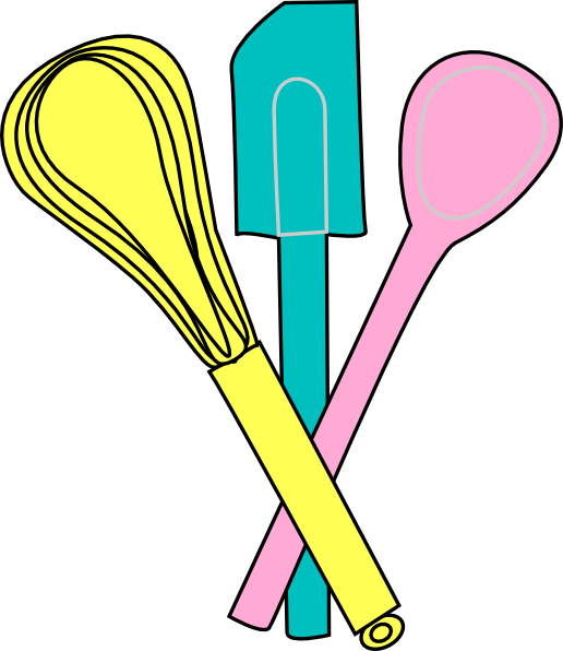 Cooking Utensils Clipart at GetDrawings | Free download