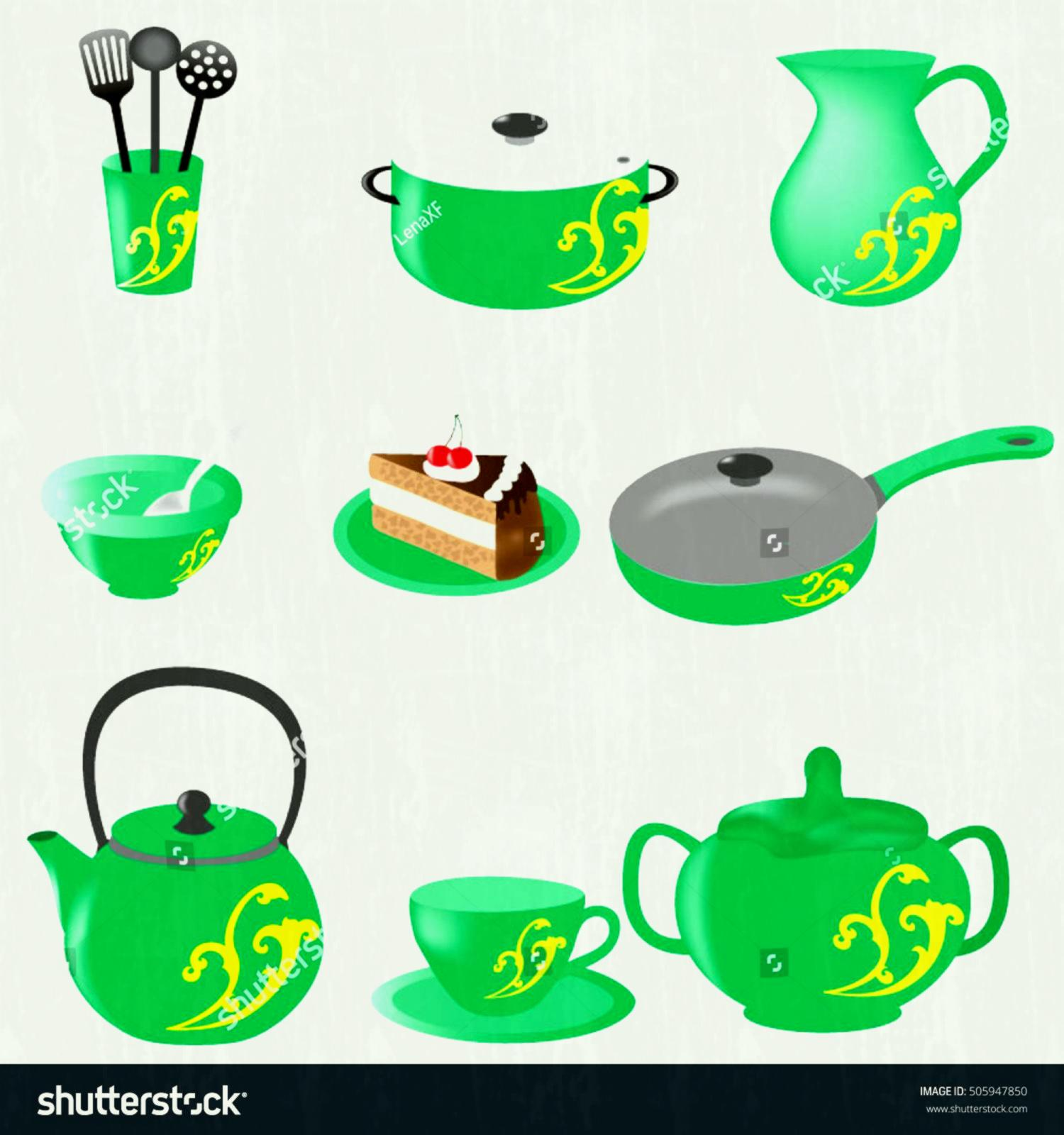 1500x1600 Hanging Cooking Utensils Clipart Kitchen Tools Black And White Pie