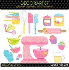 236x241 Baking Clip Art