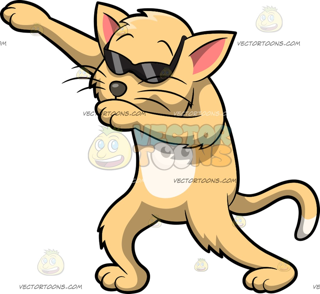 1024x940 Dabbing Animal Clipart Vector Toons