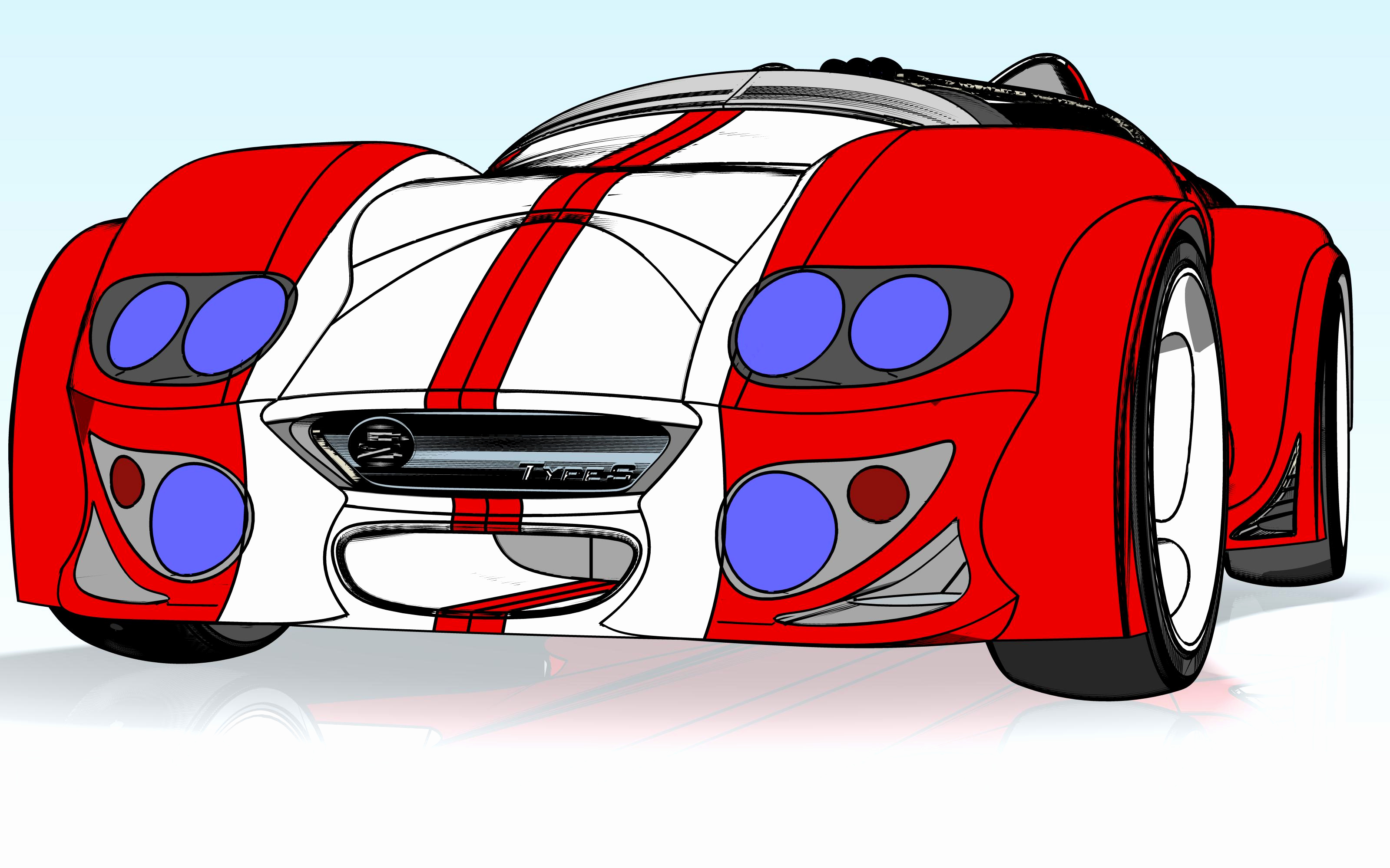Cool Car Clipart