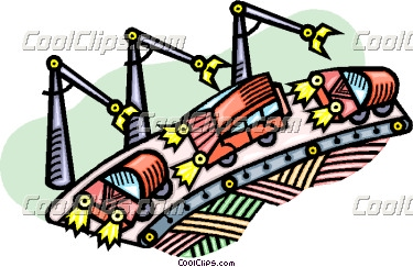 375x243 Clip Art Car Assembly Lines Clipart