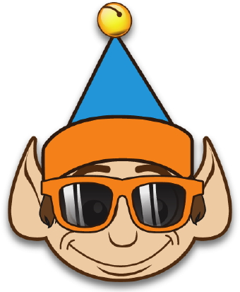 340x413 Clip Art Of A Cool Elf With Clipart Panda