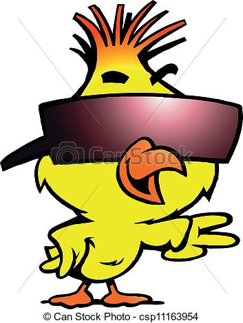 353x470 Cool Chick Clipart