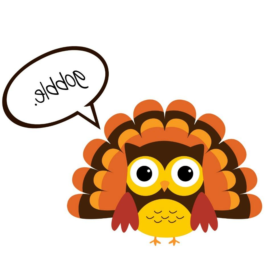 945x945 Hd Cool Thanksgiving Clipart Design