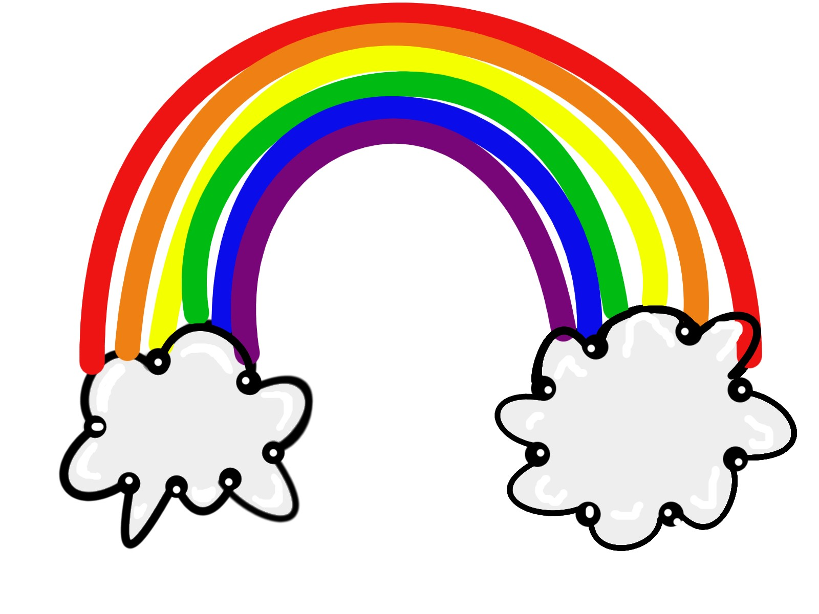 1600x1200 Rainbow Clip Art Inderecami Drawing