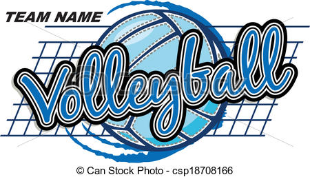450x257 Clip Art Vector Of Volleyball Design Csp Search Clipart Image