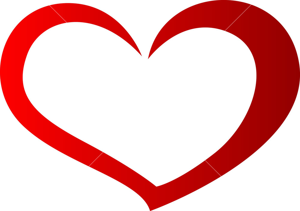 1000x704 Heart Shaped Clipart Cool Heart