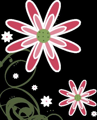 370x454 Flower Clip Art