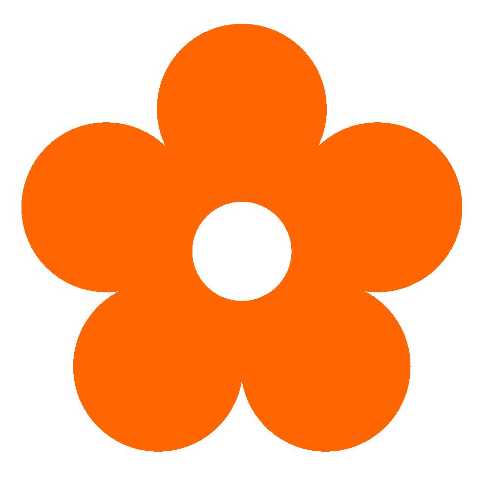 999x990 Original Clipart Orange Flower Clip Art