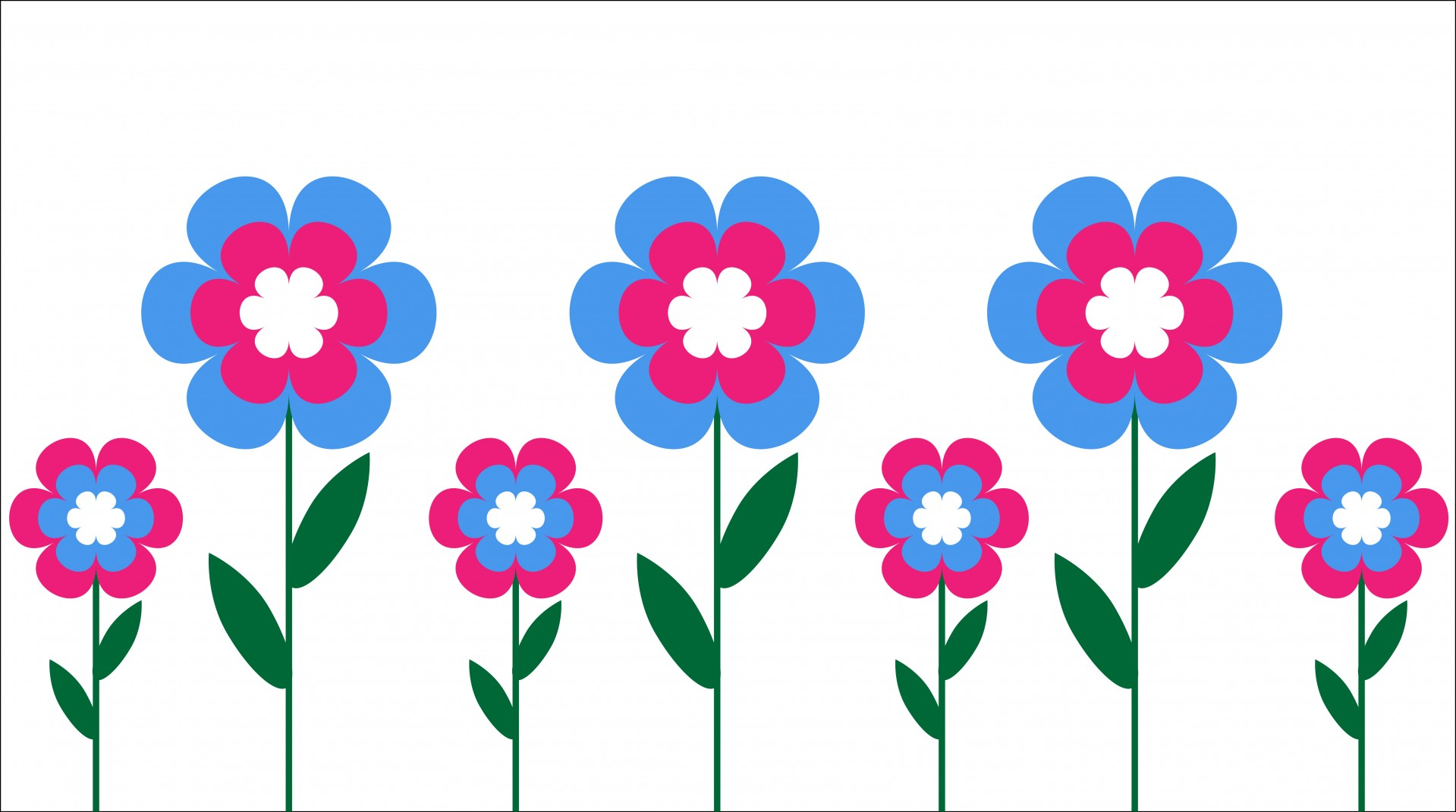 1919x1071 Retro Flower Cliparts
