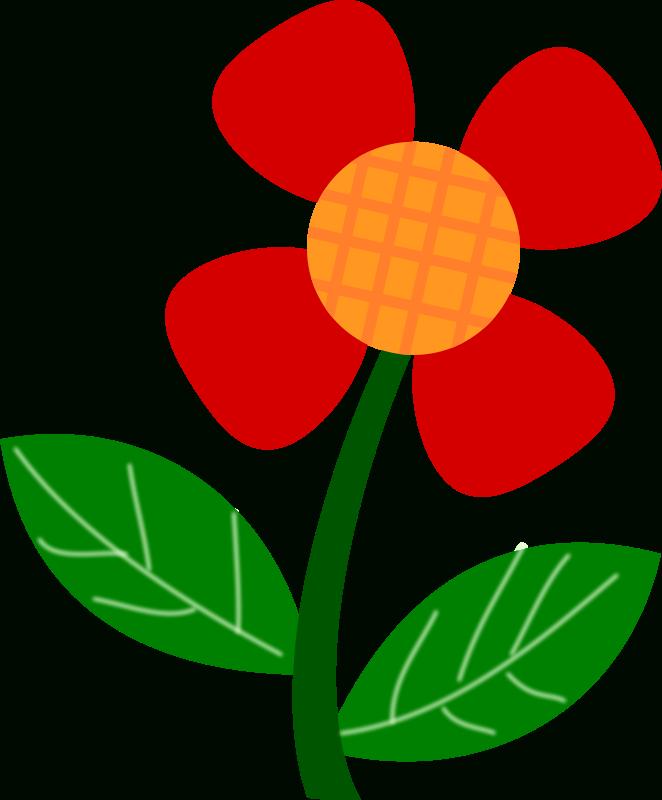 662x800 Spring Clip Art Flowers Craft Get Ideas