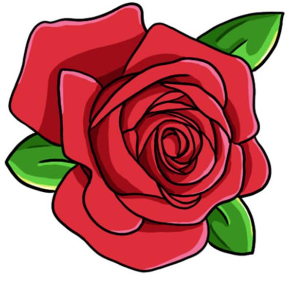 600x600 Top 75 Roses Clip Art