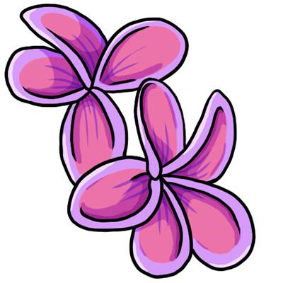 400x400 Pink Flower Clip Art Free. Clipart Panda