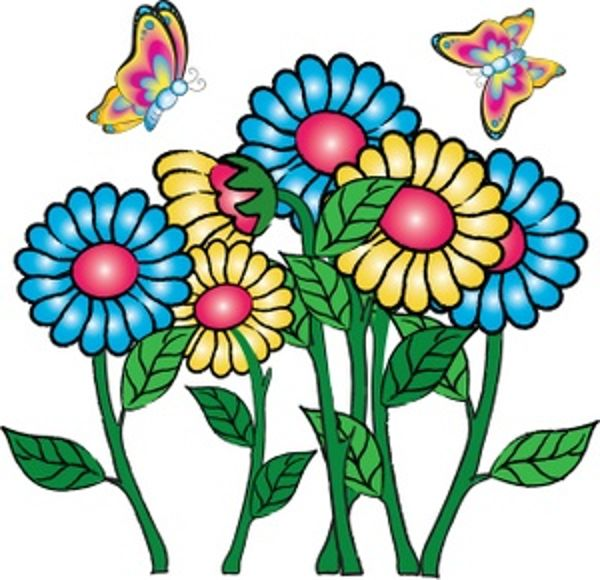 600x580 Clip Art Of Flowers Free Collection Download And Share Clip Art