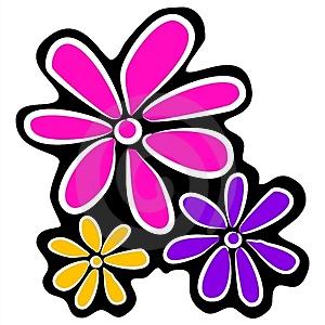 300x300 Cool Flower Clipart