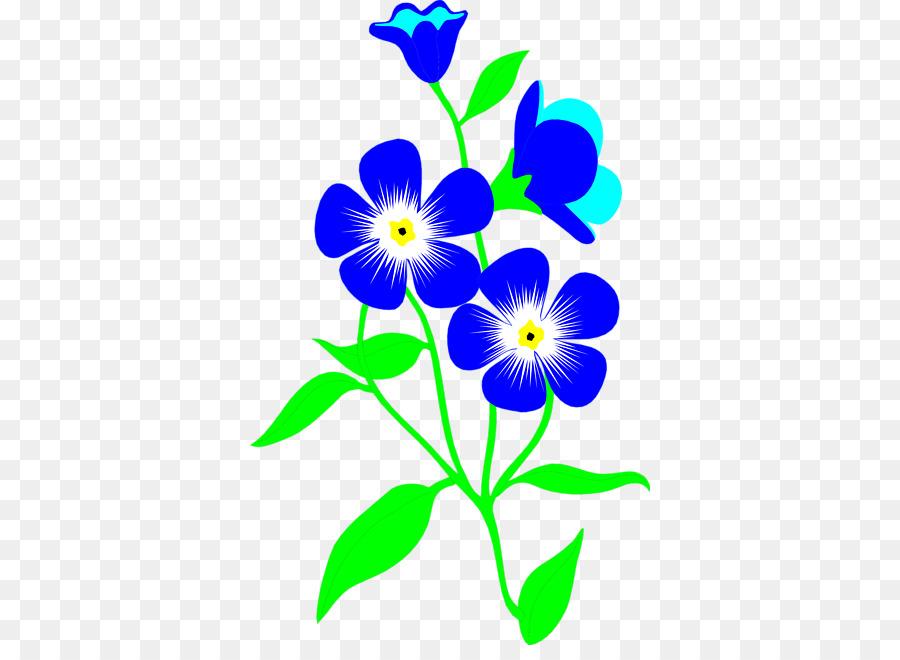 900x660 Flower Blue Clip Art
