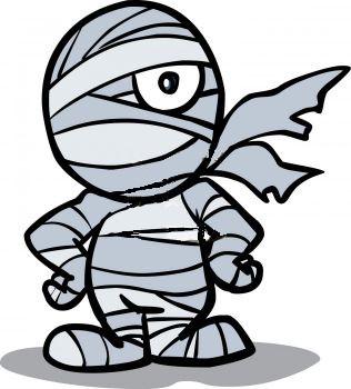 316x350 Cute Halloween Mummy Clip Art Free Clipart Images