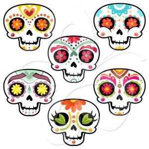 Cool Skull Clipart