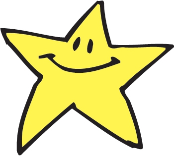 354x317 Smiley Clipart Gold Star