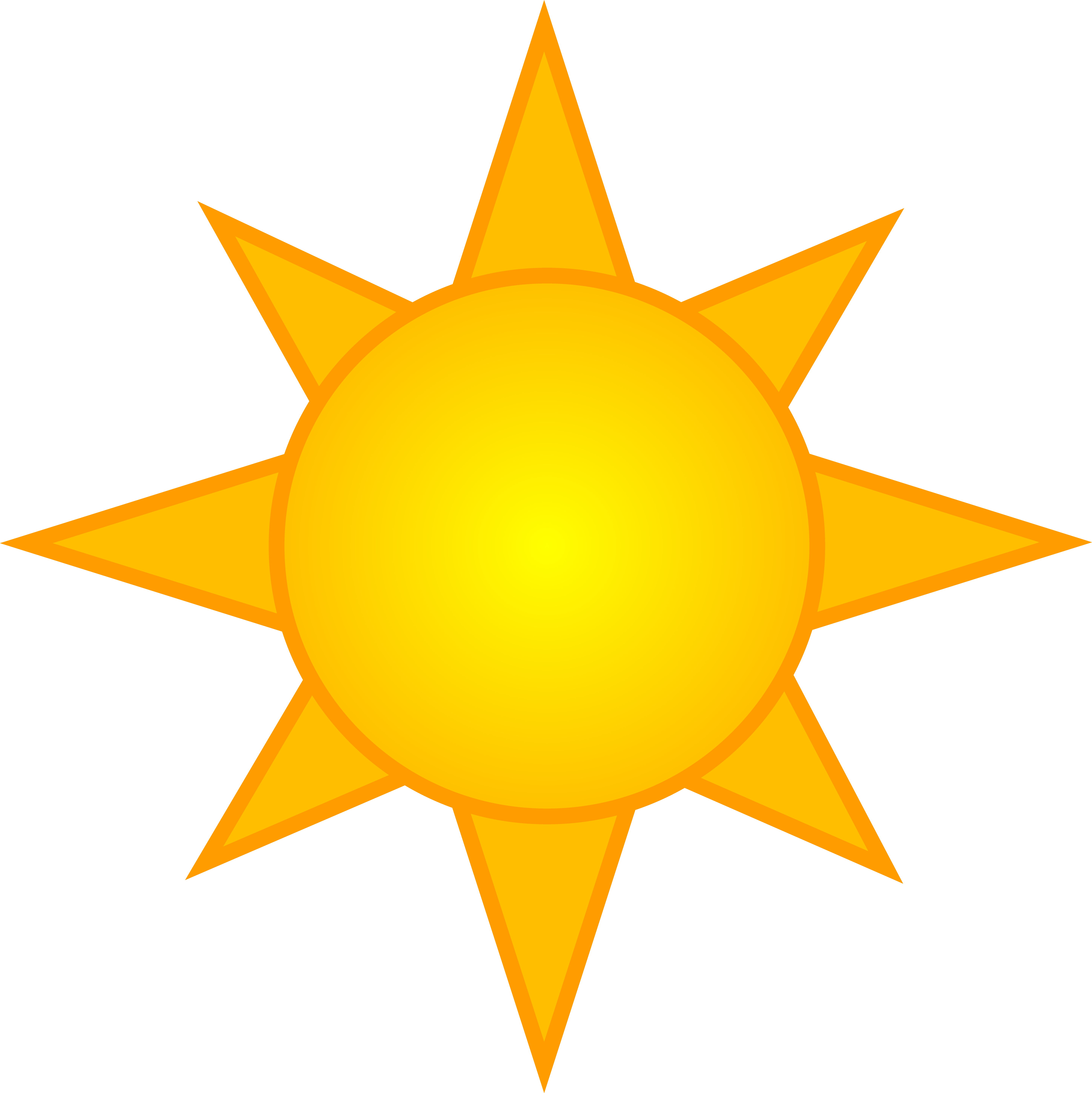 5789x5793 Top 70 Sun Clip Art