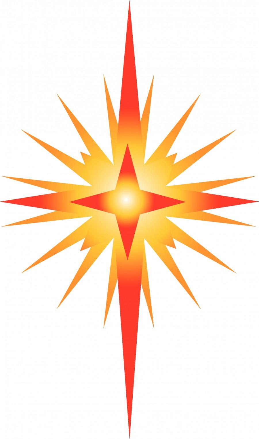 900x1526 Clip Art Bethlehem Star Clip Art