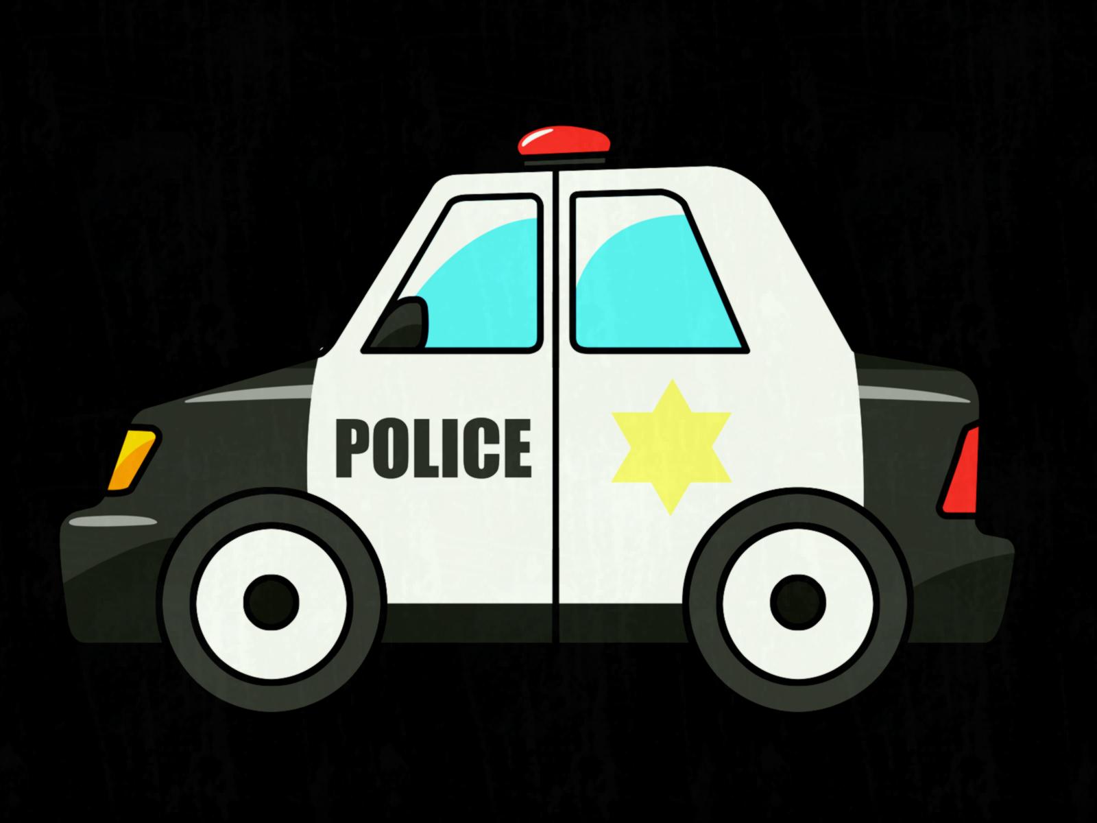 Cop Car Clipart