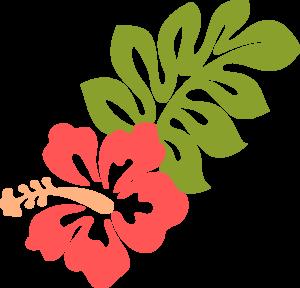 300x288 Coral Hibiscus Clip Art Hibiscus