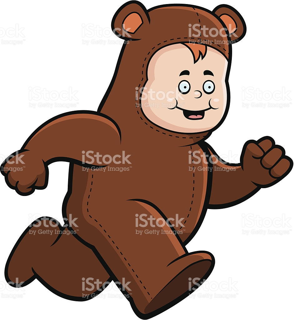 941x1024 Free Clipart Bear Jogging