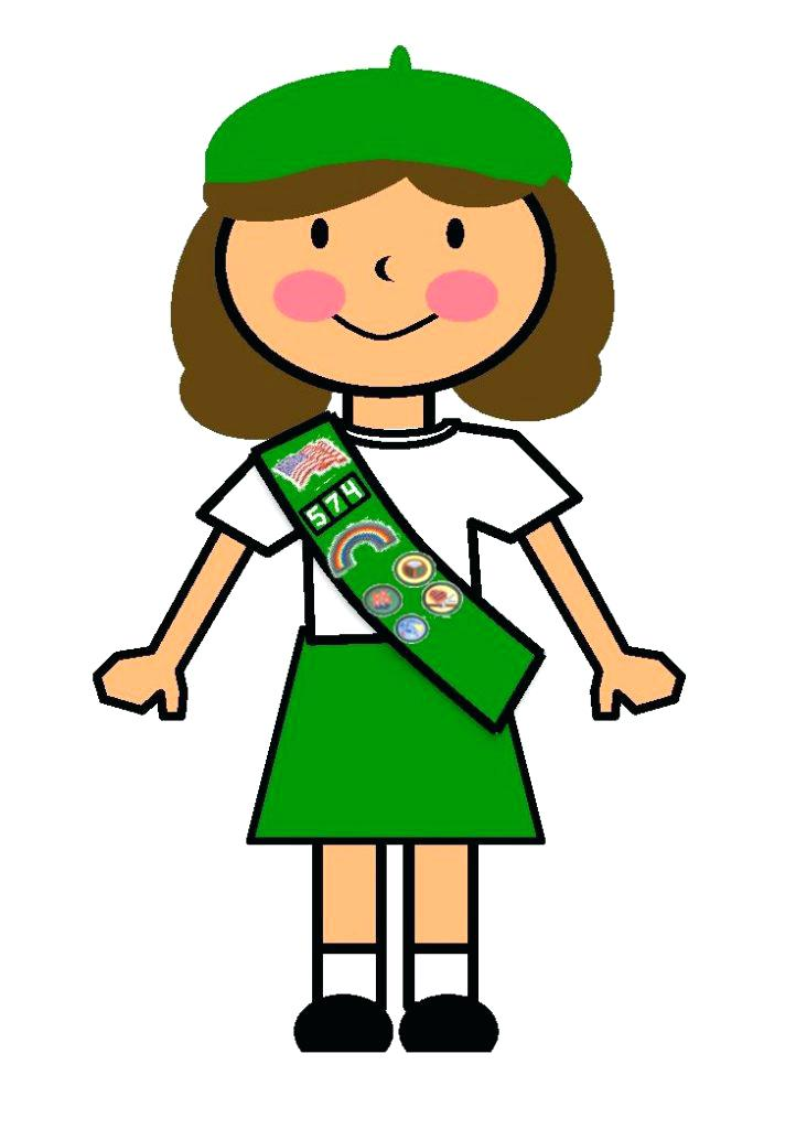 722x1024 Girl Scouts Clip Art Girl Scout Clip Art Badge Junior Girl Scout