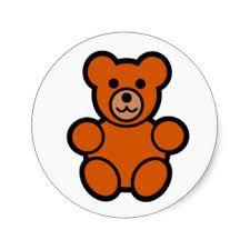 225x225 Simple Teddy Bear Clip Art