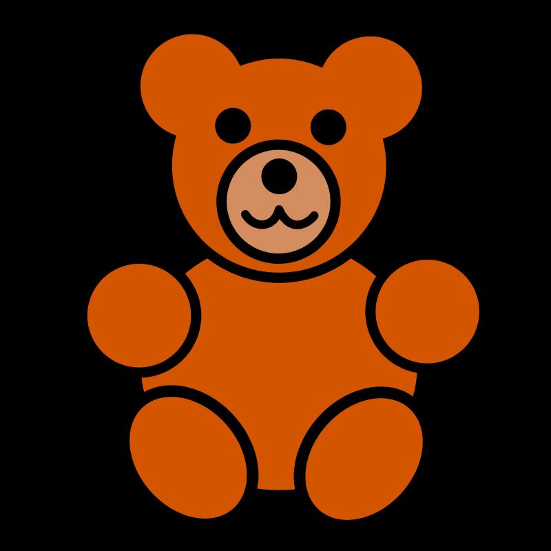 800x800 Bear Clipart Pitr Teddy Bear Icon Image