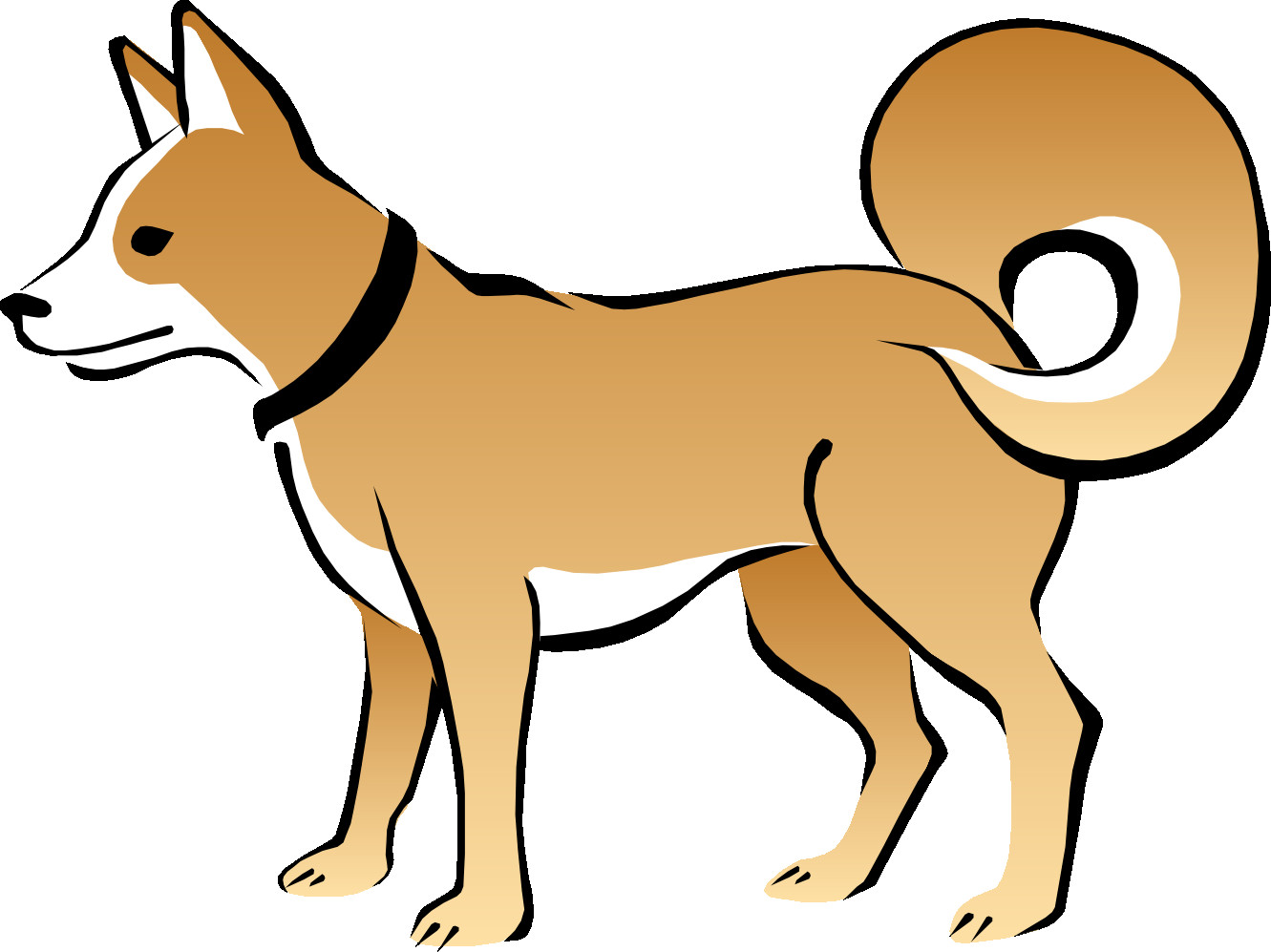 1331x997 Dog Clipart Png