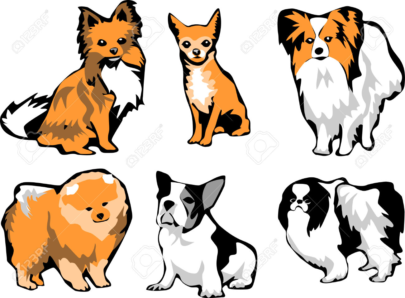 1300x956 Small Clipart Small Dog