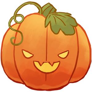 300x299 Corgi On A Pumpkin Clipart