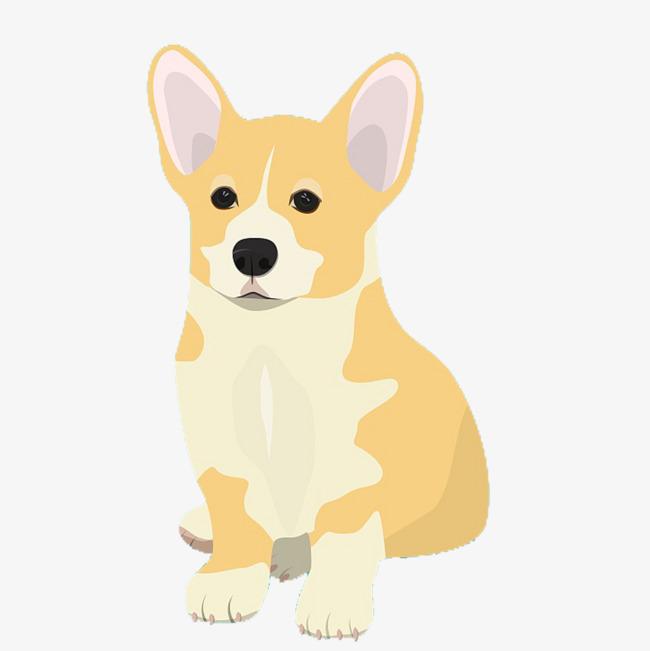 650x651 Cartoon Koji Dog, Cartoon, Corgi, Lovely Png Image And Clipart
