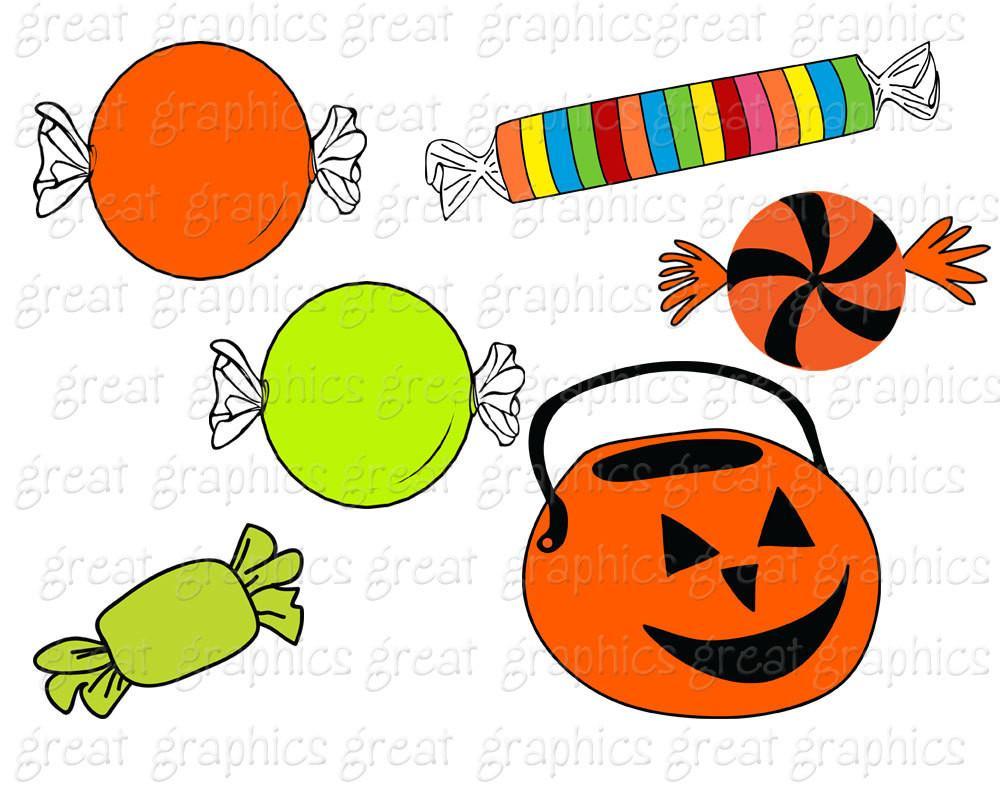 1000x800 Halloween Clipart Halloween Digital Clipart Halloween Candy