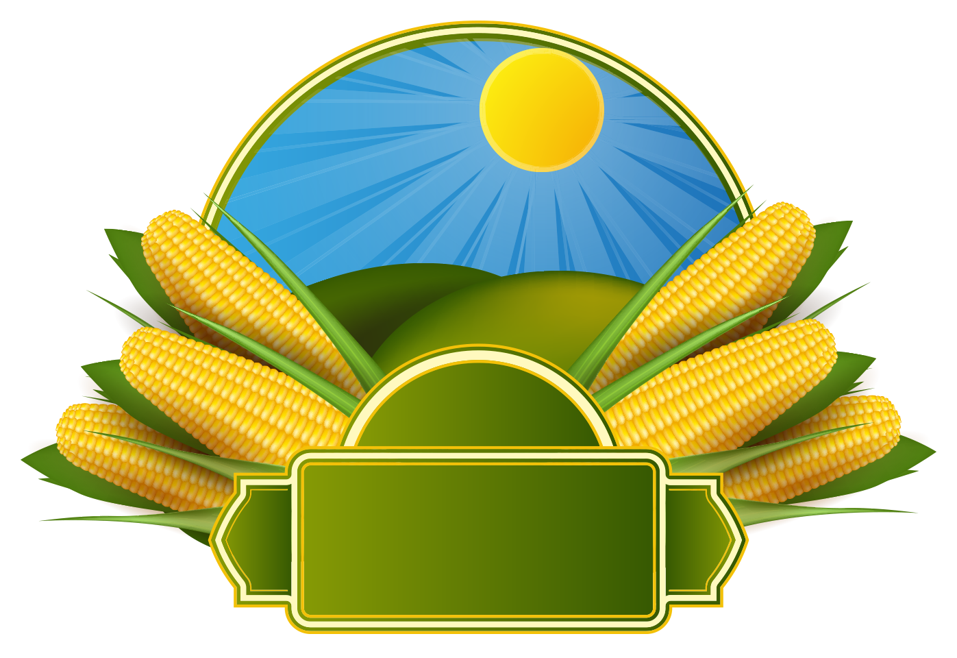 1397x960 Corn On The Cob Maize Corncob Clip Art