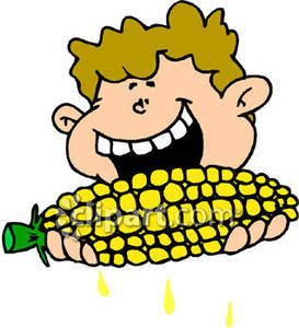 273x300 Eating Corn On Cob Clip Art ~ Home Garden Green Garden Green Home