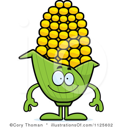 400x420 Corn Clipart Corn On The Cob B And W Clip
