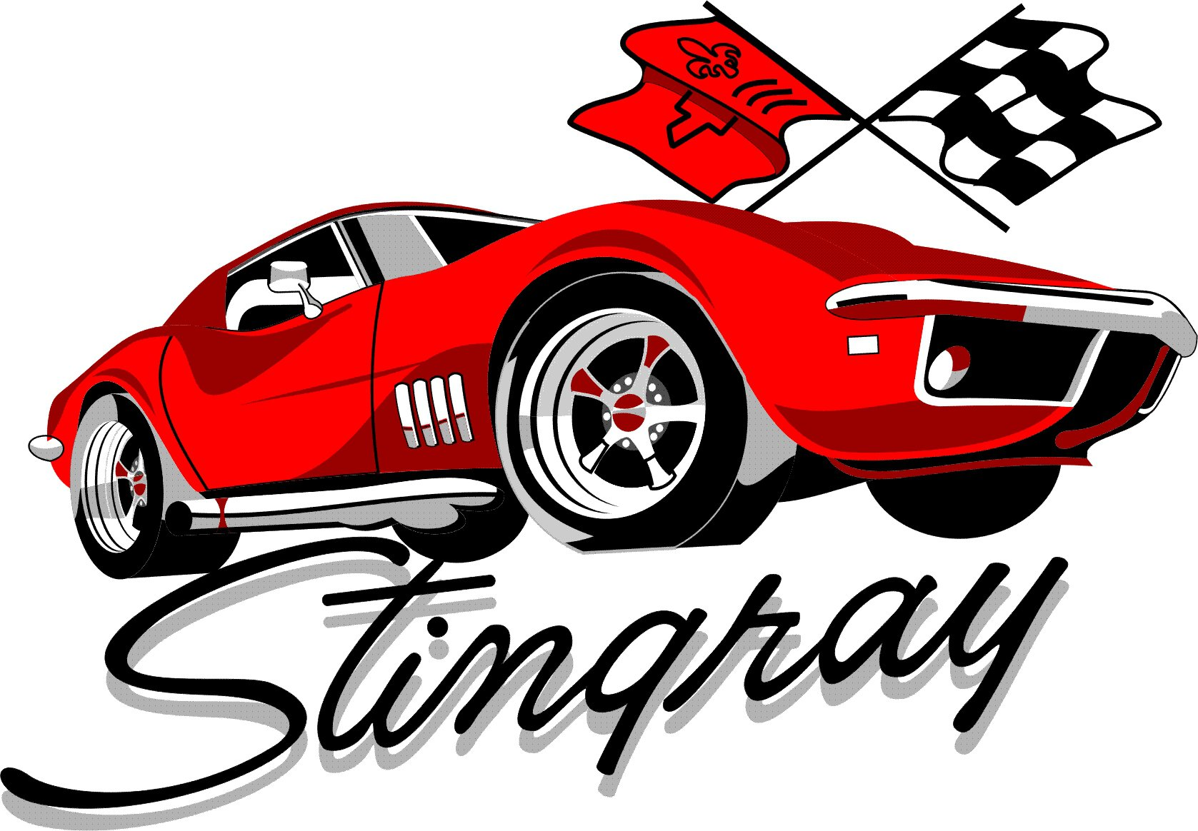 corvette stingray clipart at getdrawings com free for personal use rh getdrawings com corvette clipart vector corvette clip art silhouette
