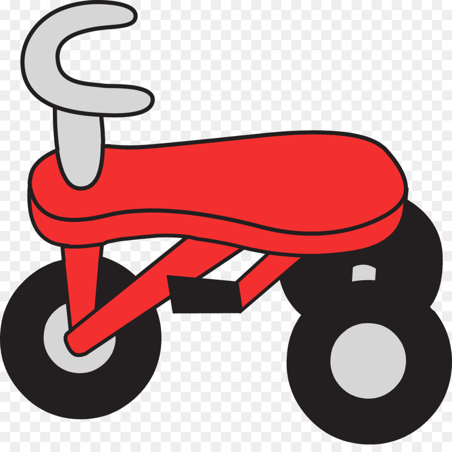 900x900 Tricycle Bicycle Scooter Clip Art