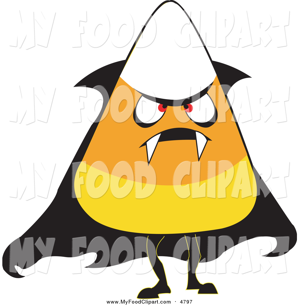 1024x1044 Food Clip Art Of A Halloween Candy Corn Wearing A Vampire Costume