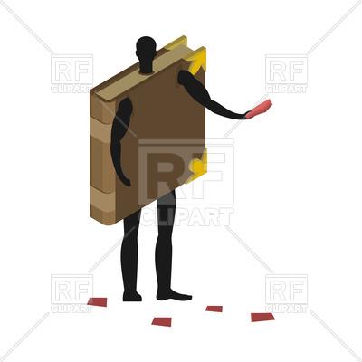 400x400 Man In Book Costume